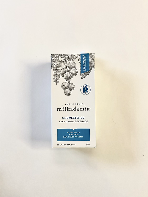 Milk, Macadamia