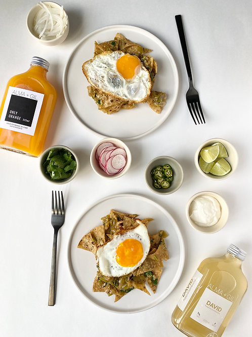 Brunch: Chilaquiles Kit