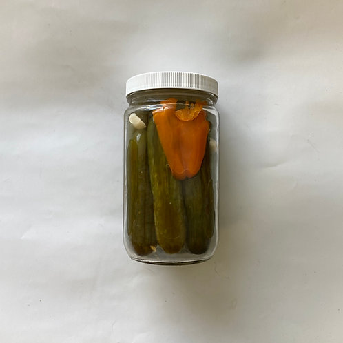 Pickles, Spicy Dill