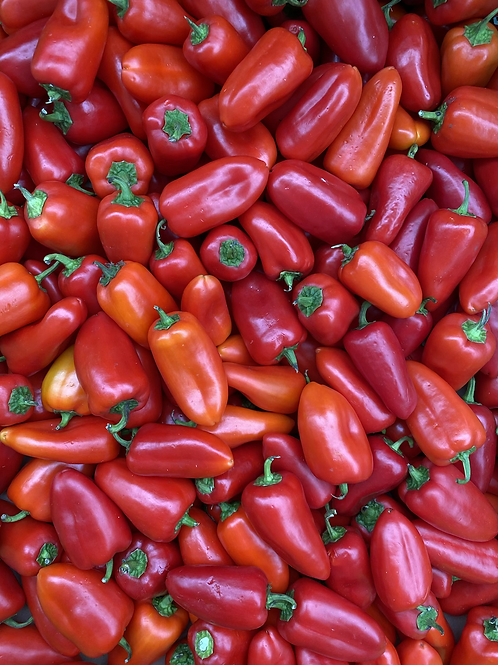 Peppers, Snacking
