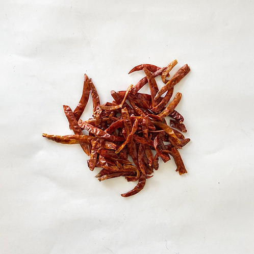 Dried Chilies, Arbol