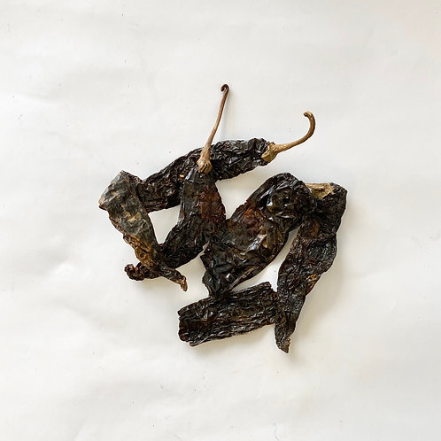 Dried Chilies, Pasilla