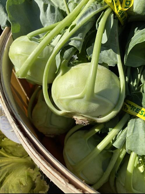 Root Vegetables, Kohlrabi - Ontario
