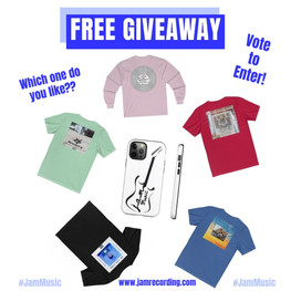 FREE MERCH GIVEAWAY!