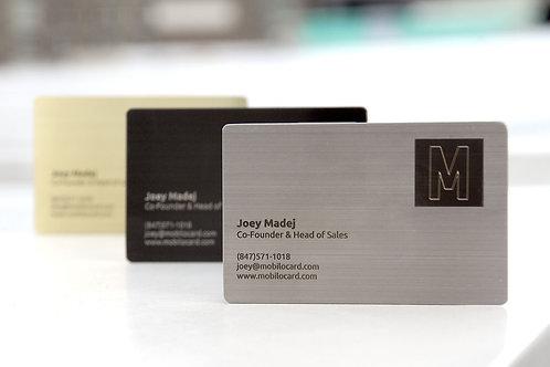 NFC Business Card Mobilo Metal