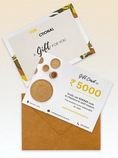 Gift Card- 5000