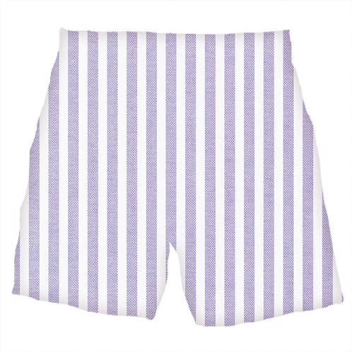 The Oxford: Purple Stripe