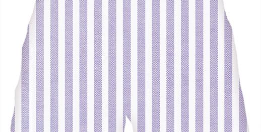 The Oxford: Purple Stripe