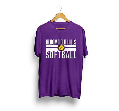Bloomfield Hills Softball Spirit Shirt