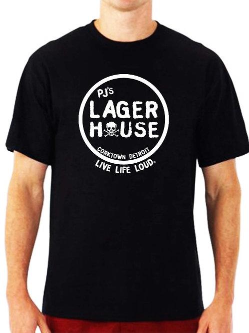 pj's lager house short sleeve
