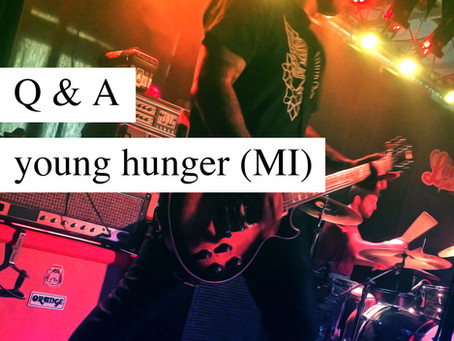 Q & A: Young Hunger (MI)
