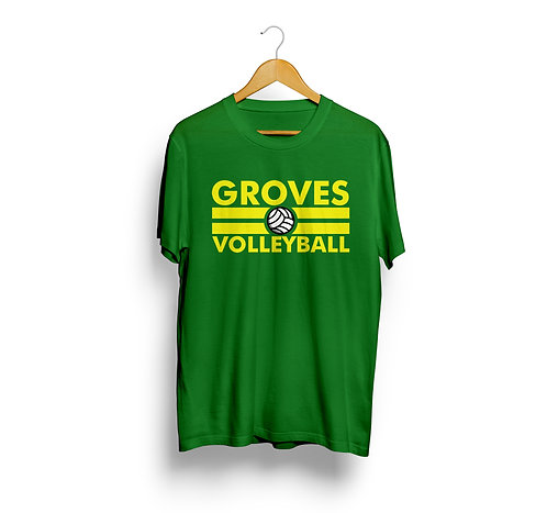 Groves Volleyball Spirit Shirt