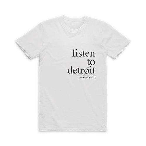 'listen to detroit' tee