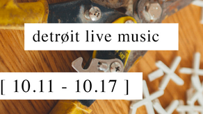 live this week // 10.11 - 10.17