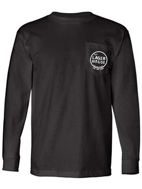 pj's lager house long-sleeve tee