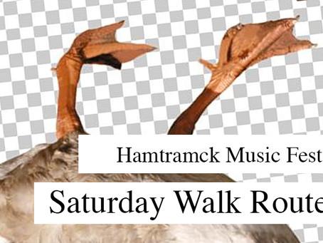 Hamtramck Music Fest: Saturday Walk Route