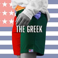 American Oxford Greek Fraternity Shorts
