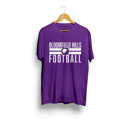Bloomfield Hills Football Spirit Shirt
