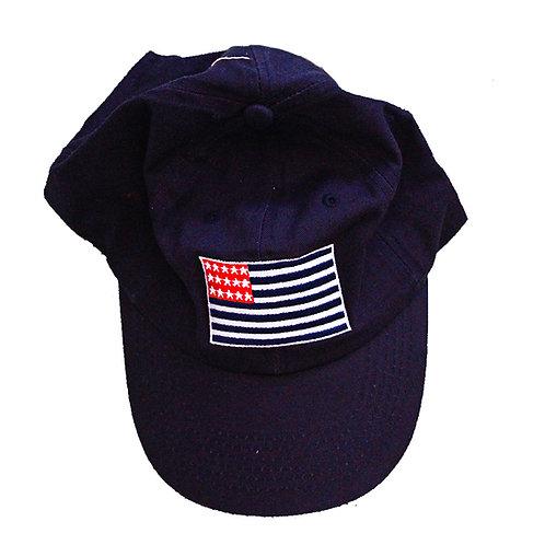 American Oxford Flag Baseball Hat