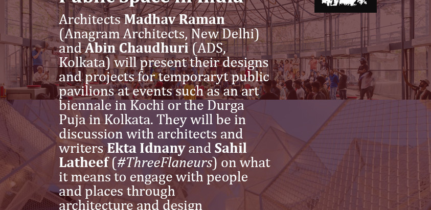 People, Architecture and Public Space in India