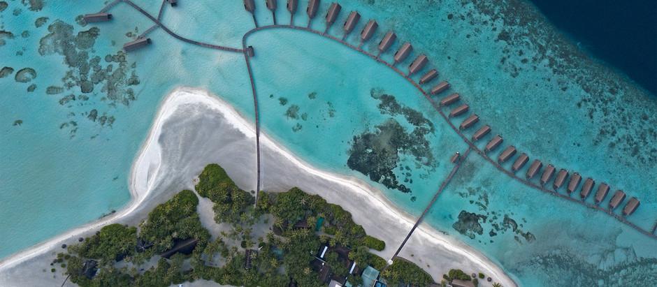 Bird's-eye view of the Garland of Islands