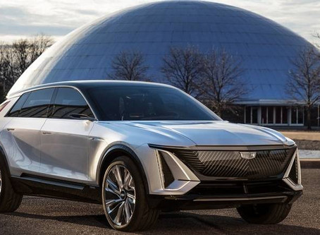 Cadillac rolls out new electric SUV, says features can take on Tesla