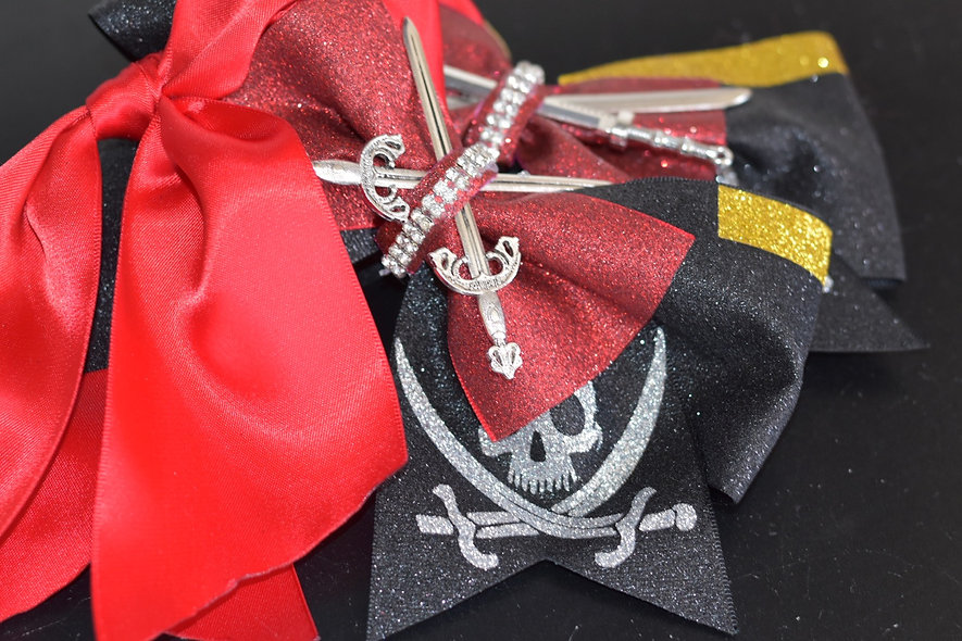 Pirates of the Caribbean Sword Cheer Bow