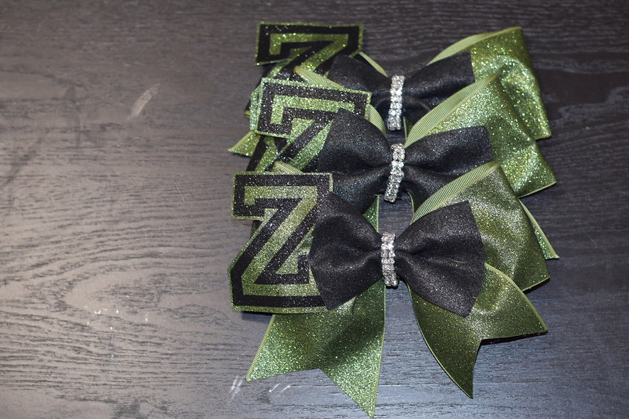 Zombies 2 - Team zombie - Cheer Bow