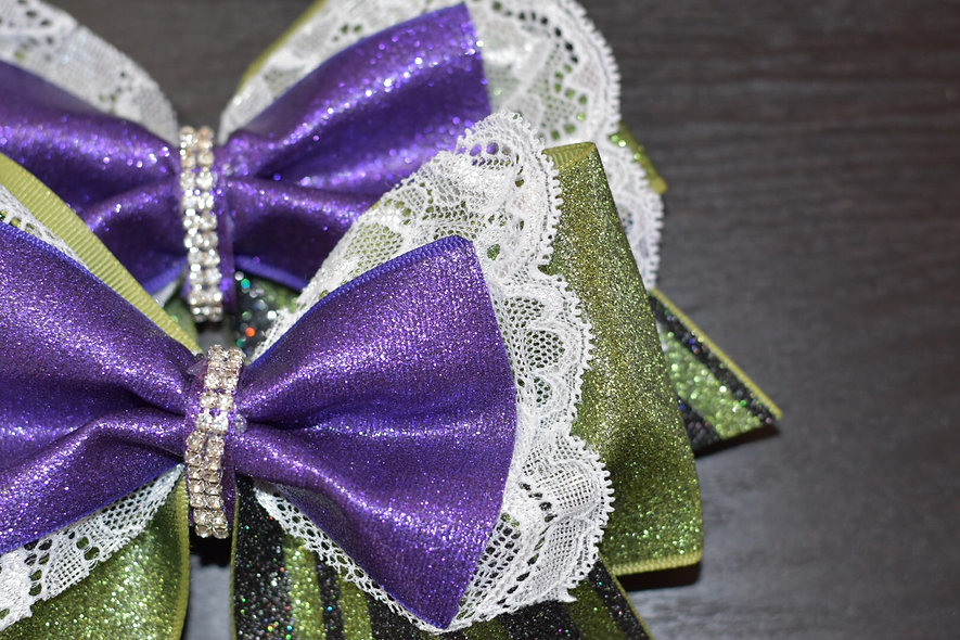 Haunted Mansion Cheer Bow