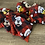 Thumbnail: Plaid Mickey and Friends Minnie Cheer Bow and Mask Set -