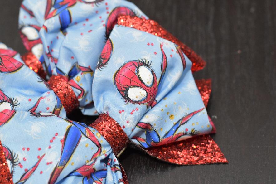 Spider Girl Superhero | Minnie Cheer Bow - Limited Edition