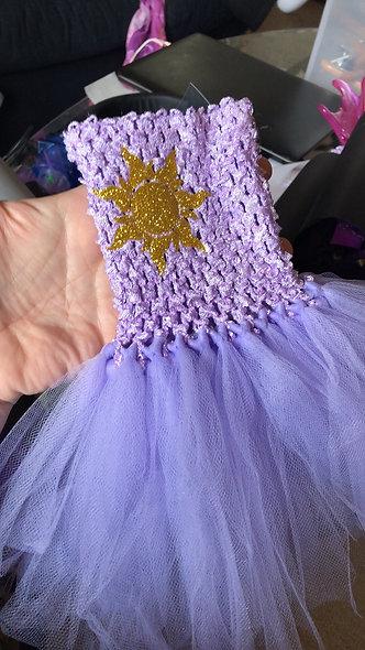 Rapunzel Doll Dress
