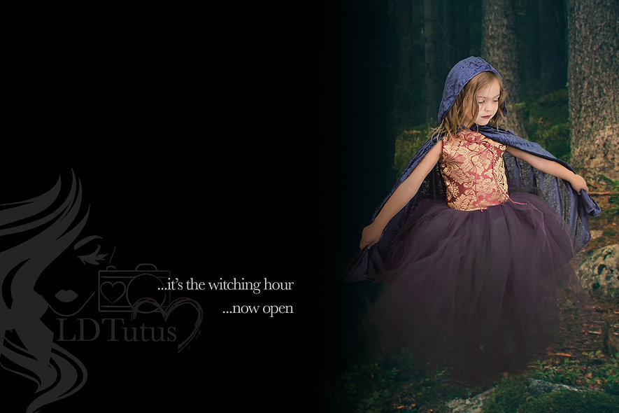2021 LDTutus Witches, Wizards & Halloween Photoshoot Package