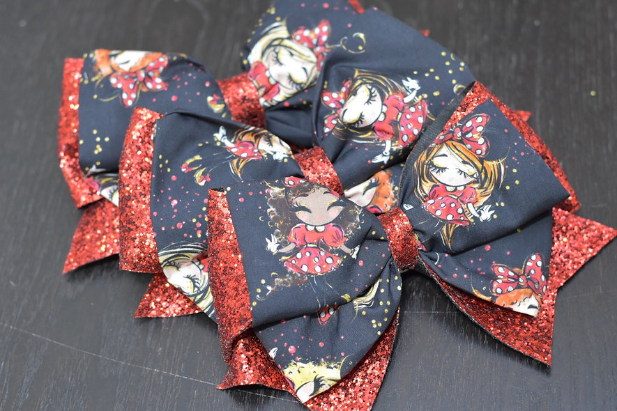 Minnie Fashion Girls   Minnie Cheer Bow - Limited Edition