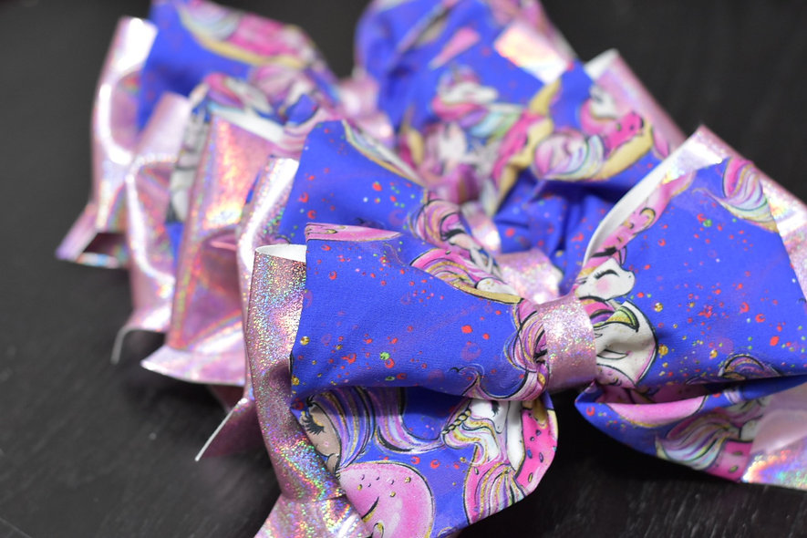 Unicorn Pool Party | Minnie Cheer Bow - Limited Edition
