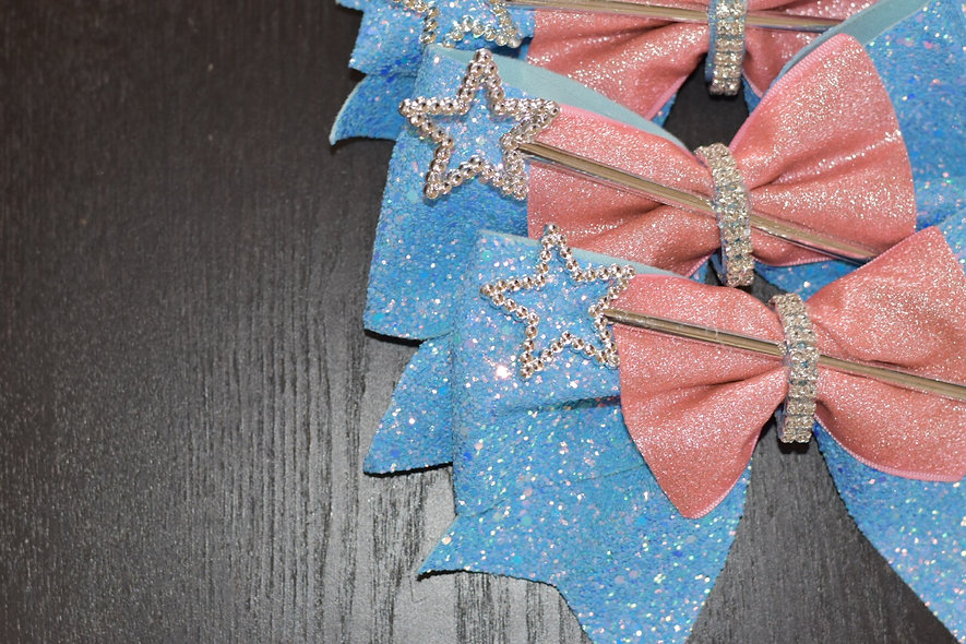 Fairy Godmother Cheer Bow
