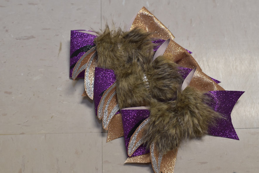 Zombies 2 - Team Wolf - Cheer Bow