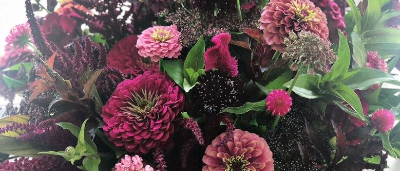 4 Week August Bouquet Subscription