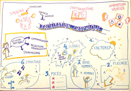 . Facilit'on #7 - Rendre les idées visibles .