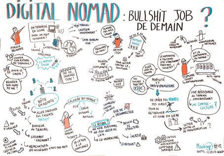 """. Mash up #22 : """"Digital Nomad"""" ."""