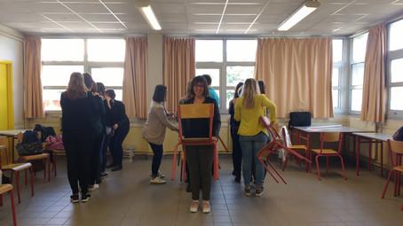 . Ateliers coopératifs avec les étudiants .