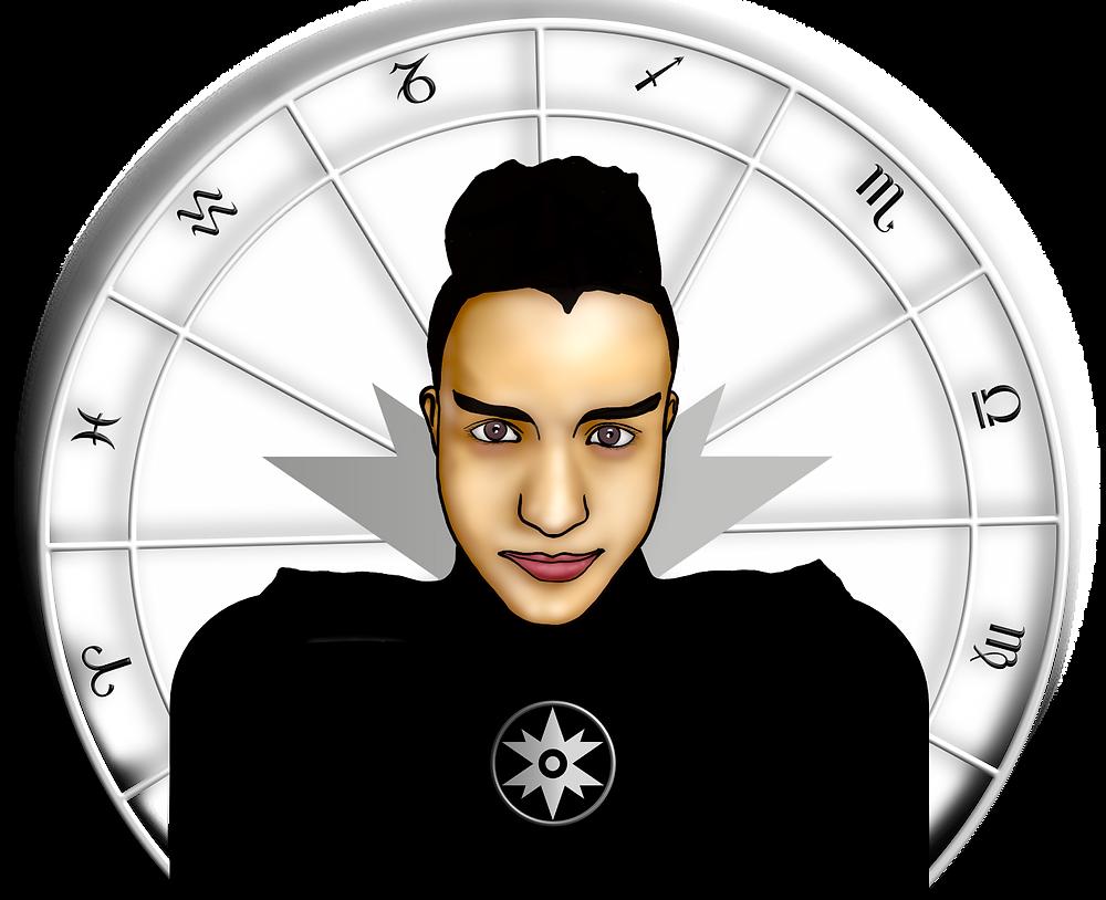 Zehnstern Astrologie Enmanuel Hidalgo Infante Astroberatung Astrologie Berlin