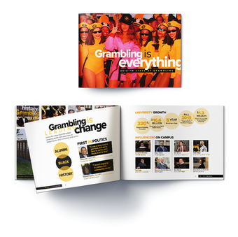 Grambling State University Fundraising Multi-Channel Campaign