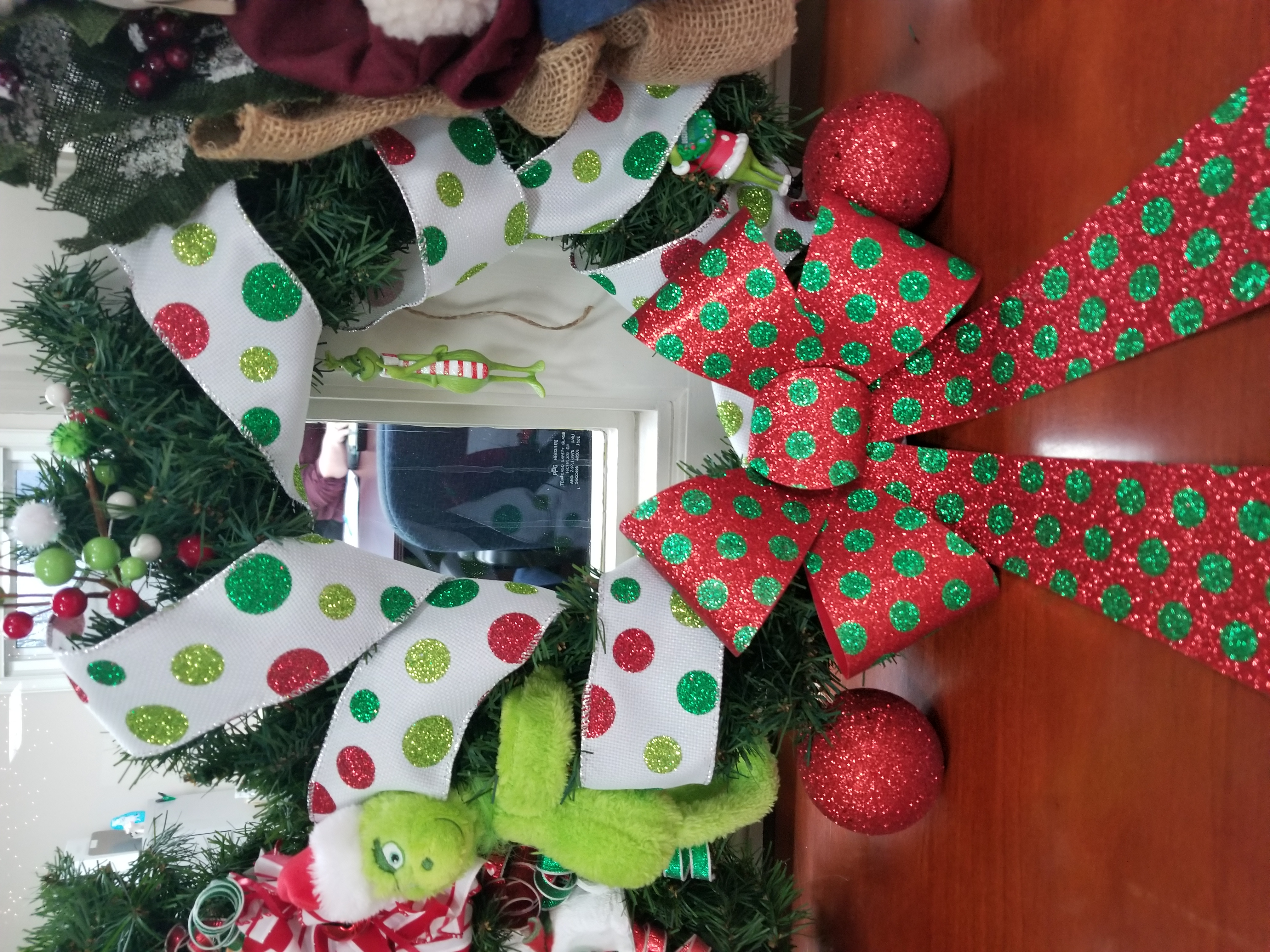 #8 Grinch Wreath