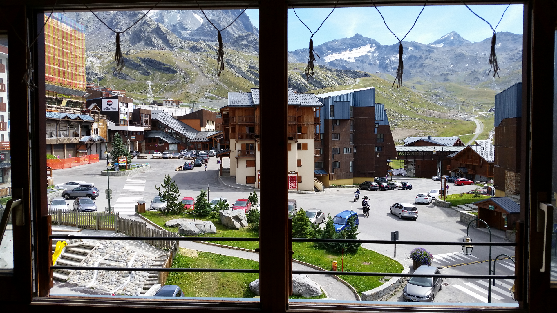 View from Windows onto Main Square