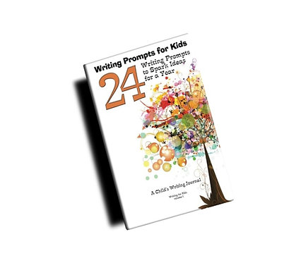"""Writing Prompts for Kids - Paperback (8.5""""x11"""")"""