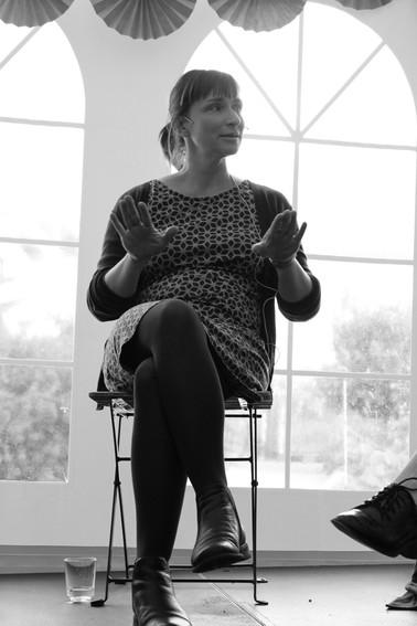 DRAMATIKERNE BAK VINNERTEKSTENE Nelly Winterhalder Foto: Vera Lunde