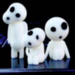 Kodama Forest Spirit 3D Print