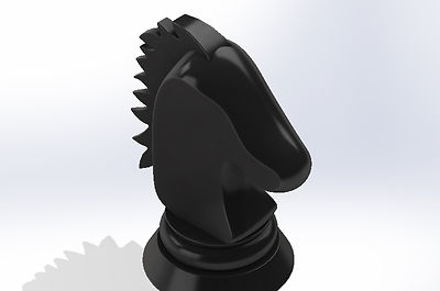 Chess Piece Knight 3D Print