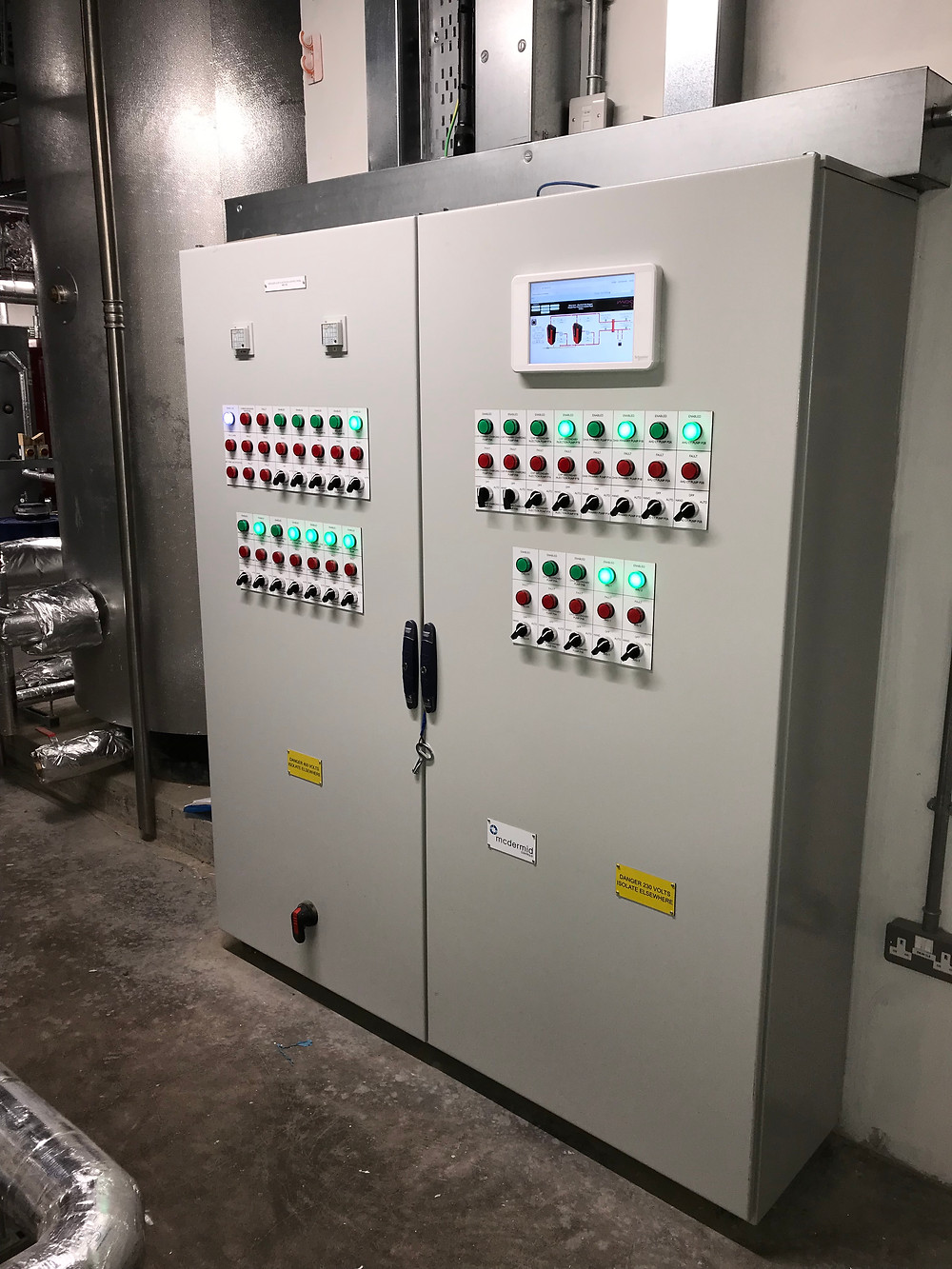 McDermid Controls Installation